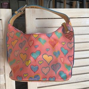 Dooney & Bourke small bag with hearts